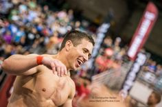 Dan Bailey after completing event#3 at the 2012 Crossfit Games Central East Regional