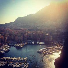 #Fontvieille ⛵️sunset in Monaco by innaustymenko from #Montecarlo #Monaco