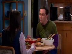 The Big Bang Theory: Gaming Conversations- Showing interest when you are bored.