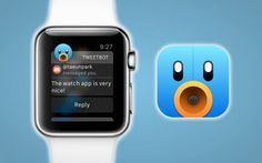 The all-famous Twitter app for iOS, Tweetbot is out with its latest update, Tweetbot 4.1. For the first time, it supports Apple Watch and is compatible with watchOS 2. It allows viewing recent activity, composing new tweets, and more, just from the Apple Watch. The previous update in early October update had the customized version for iPad and a few iOS 9-compatible features. Twitter App, Apple Watch, Ios, Bring It On, Activities, Watches, October, Clocks, Clock