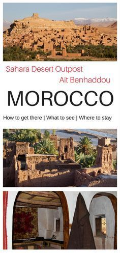 Discover the magic, the mystery, the majesty of the High Atlas Mountains in Morroco, and its gem the world heritage city of Ait Benhaddou. #Africa #Morocco #Marrakesh #deserttour #guide #adventure
