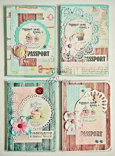 Обложки на паспорт и календари-магниты - Волшебство бумаги