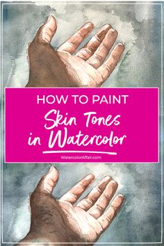 A step by step tutorial about mixing realistic skin tones in watercolor. Includes tips, and watercolor mixing recipes. A step by step tutorial about mixing realistic skin tones in watercolor. Includes tips, and watercolor mixing recipes. Watercolor Skin Tones, Watercolor Mixing, Watercolor Tips, Watercolour Tutorials, Abstract Watercolor, Simple Watercolor, Watercolor Landscape, Watercolor Animals, Watercolor Flowers