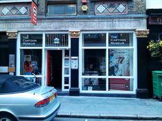 The Cartoon Museum, 35 Little Russell Street, London Cartoon Museum, Modern Pictures, South London, Street, Walkway