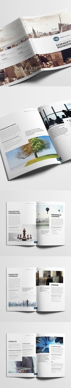 Catalog for WYG International (Poland) Graphic Projects, Corporate Identity, Art Direction, Poland, Layouts, Catalog, Branding, Brand Management, Brand Identity