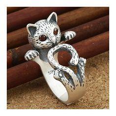 メルカリ商品: ファッション リング ネコ 耳 肉球 可愛い 猫グッズ (しがみつき猫) #メルカリ