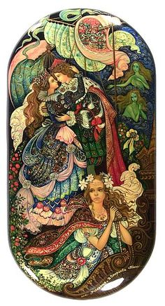Another version of The LIttle Mermaid by Vera.  Palekh
