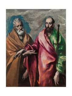 National Gallery Of Art, National Art, Oil On Canvas, Canvas Art, Canvas Size, St Peter And Paul, San Pablo, Oeuvre D'art, Artwork