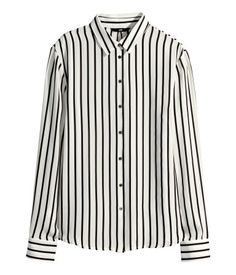 Straight-cut Shirt $14.95  | H&M US