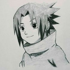 Little Sasuke by Yaumil Putra Naruto Drawings Easy, Naruto Sketch Drawing, Sasuke Drawing, Anime Sketch, Easy Drawings, Anime Naruto, Naruto Vs Sasuke, Naruto Cute, Manga Anime
