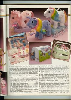 My Little Pony advertisemnet for Plush Ponies and My Little Pony items ...