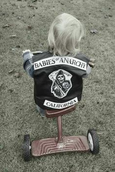 Sons of Son of Anarchy @Shawna Bergene feradi I think Jax needs one too! Lol