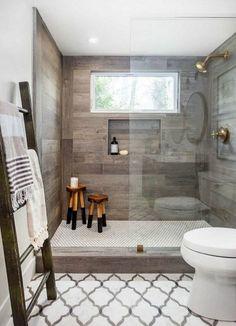 natural light in shower