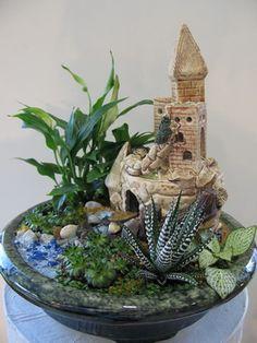 Домашний комнатный мини-садик и сады своими руками: как сделать из подвесных цветов в горшках