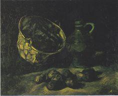 Van Gogh - Stillleben mit Kupferkessel, Krug und Kartoffeln, 1885
