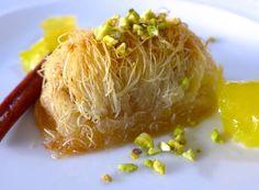 - My Greek Dish- Homemade Kataifi recipe! – My Greek Dish Homemade Kataifi - Armenian Recipes, Lebanese Recipes, Turkish Recipes, Greek Recipes, Persian Recipes, Greek Sweets, Greek Desserts, Fun Desserts, Pastry Recipes