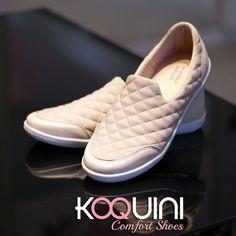 Em lycra matelasse com conforto extremo. Você não vai querer tirar dos pés #marinamello #euquero #koquini #comfortshoes Compre Online: http://koqu.in/2dOoCXD