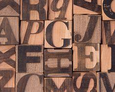 Tykography Blocks: i cubetti in legno per imparare a conoscere la stampa e la tipografia