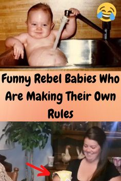 These babies are little rebels! They don't care what you think, they are going to do whatever they want, whenever they want. They'll look pretty cool doing it too. Once you check out the photos of these 75 badass infants, you'll see what we mean. Rules are for old people and these little girls and boys definitely aren't playing along. 5 Minute Crafts Videos, Craft Videos, Aesthetic Hair, Aesthetic Clothes, Beautiful Back Tattoos, Balinese Tattoo, Backpiece Tattoo, Be Brave Tattoo, Clever Tattoos