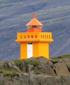 Etharsteinn Lighthouse, Iceland