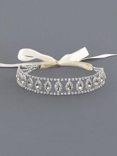 Anastasia Halo Crystal Rhinestone Bridal Headband, Special Occasion, Glamorous hair accessory, Elegant, Opulent, Fashionable H2W