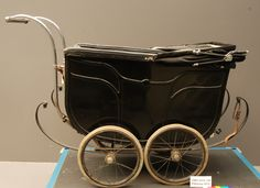 Luxury 1920's - 1930's baby carriage before treatment  #vintage #baby #wheels