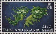 Sello: Rebuilding (Malvinas Islas) (Semi Postal Stamps) Mi:FK 354,Sn:FK B1