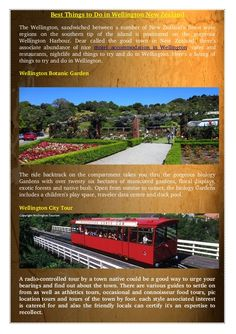 If you planning for New Zealand #tour or #travel you must visit  #Wellington #BonaticGarden and #CableCar