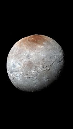 Charon - Taken by New Horizons.