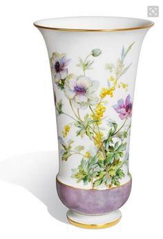 ** Váza - malovaný porcelán ♣ Míšeň **