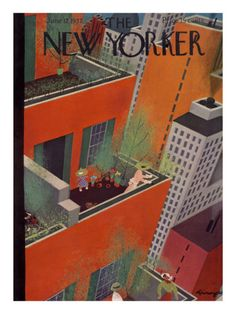 The New Yorker Cover - June 12, 1937.