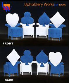 Upholstered Blue Chairs By Upholstery Works. Las Vegas, NV  Http://www.UpholsteryWorksLV.com | Furniture Upholstery | Pinterest | Furniture  Upholstery And ...