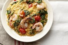 One-Pot Shrimp and Couscous