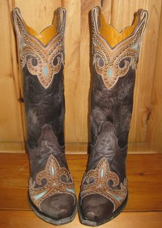 Rivertrail Mercantile - Old Gringo Taka Brown Stud Cowgirl Boot, $610.00 (http://www.rivertrailmercantile.com/old-gringo-taka-brown-stud-cowgirl-boot/)