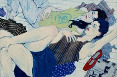 Hope Gangloff is an artist based out of New York who makes beautiful works out of ink and acrylic paint. Description from krystinaplante.blogspot.com. I searched for this on bing.com/images