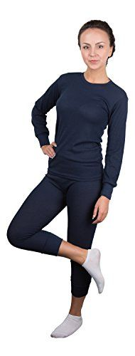 Rocky Women's Thermal 2pc Set Long John Underwear Waffle Knit *** Check out this great product.