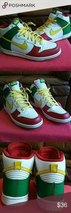 Nike SB DUNK HIGH 517562-173 Shoes is rated 9/10...having worn them only 4 times and thats it. It looks like new. In total excellent shape and condition. Price is reduced to clear. Nike Shoes Sneakers