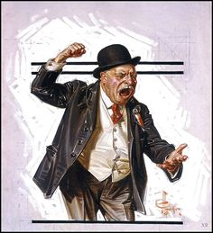 1916 ... the politician - J.C. Leyendecker | Flickr - Photo Sharing!