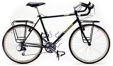 100 (one hundred!!!) TOURING BIKES. Have a look!