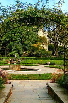 Central Park Conservatory Gardens Weddings