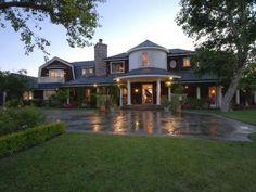 Ozzy & Sharon Osbourne Hidden Hills Home-exterior