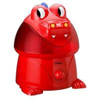 Crane Cool Mist Dragon Humidifier, Red