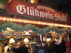 """Glühwein stalls at European Christmas markets ... that wonderful warm, spiced """"Glow wine"""" for the Holiday chill ... Love it!!"""