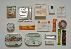 French Army ration pack - how the world's armies get fed