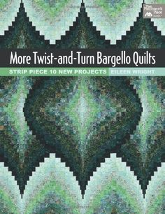 New bargello-quilt book! More Twist-and-Turn Bargello Quilts by Eileen Wright Bargello Quilt Patterns, Bargello Quilts, Patchwork Patterns, Patchwork Quilting, Crazy Patchwork, Patchwork Designs, Quilting Projects, Quilting Designs, Quilting Ideas