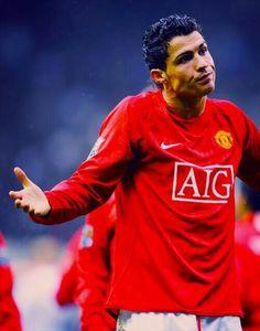Cristiano Ronaldo Good Soccer Players, Football Players, Manchester United Images, Cristano Ronaldo, Soccer Shoes, Neymar, Real Madrid, Barcelona, Mens Tops