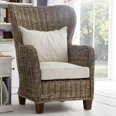 Beachcrest Home Prescott King Chair with Cushions