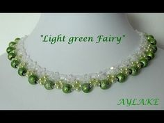 """Necklace """"Light Green Fairy"""""""