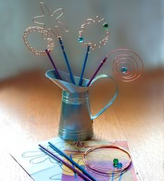 Artterro make-your-own bubble wand kit.