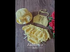 This tutorial will show you how to work a double crochet stitch. Double crochet is one of the essential basic crochet stitches. You could crochet plenty of p. Crochet Baby Costumes, Crochet Baby Clothes, Newborn Crochet, Crochet Baby Dress Pattern, Crochet Flower Patterns, Crochet Designs, Crochet Girls, Crochet For Kids, Free Crochet